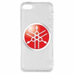 Чехол для iPhone5/5S/SE Yamaha Logo 3D