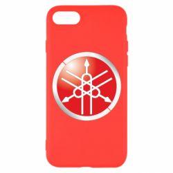 Чехол для iPhone 8 Yamaha Logo 3D