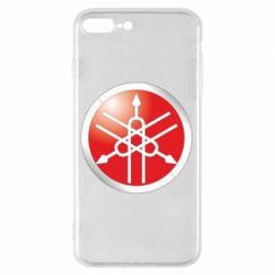 Чехол для iPhone 8 Plus Yamaha Logo 3D