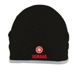 Шапка Yamaha Logo(R+W) - FatLine