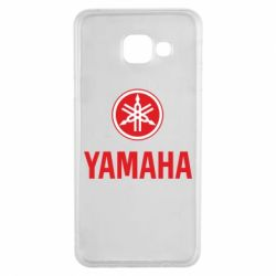 Чехол для Samsung A3 2016 Yamaha Logo(R+W)