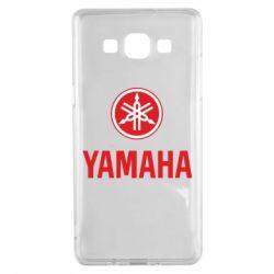 Чехол для Samsung A5 2015 Yamaha Logo(R+W)