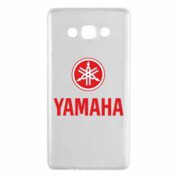 Чехол для Samsung A7 2015 Yamaha Logo(R+W)