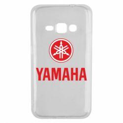 Чехол для Samsung J1 2016 Yamaha Logo(R+W)