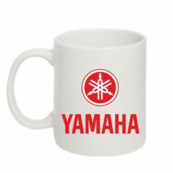 Кружка 320ml Yamaha Logo(R+W) - FatLine