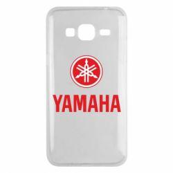 Чехол для Samsung J3 2016 Yamaha Logo(R+W)