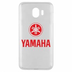 Чехол для Samsung J4 Yamaha Logo(R+W)