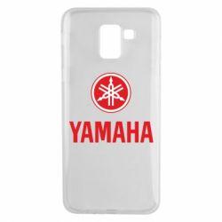 Чехол для Samsung J6 Yamaha Logo(R+W)