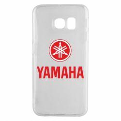Чехол для Samsung S6 EDGE Yamaha Logo(R+W)