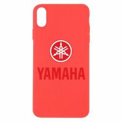 Чехол для iPhone Xs Max Yamaha Logo(R+W)