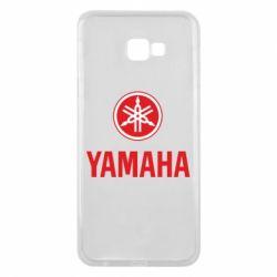 Чехол для Samsung J4 Plus 2018 Yamaha Logo(R+W)