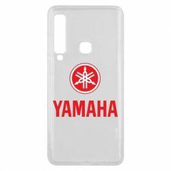 Чехол для Samsung A9 2018 Yamaha Logo(R+W)