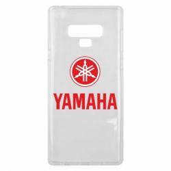 Чехол для Samsung Note 9 Yamaha Logo(R+W)