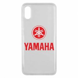 Чехол для Xiaomi Mi8 Pro Yamaha Logo(R+W)
