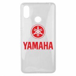 Чохол для Xiaomi Mi Max 3 Yamaha Logo(R+W)