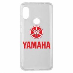 Чохол для Xiaomi Redmi Note Pro 6 Yamaha Logo(R+W)