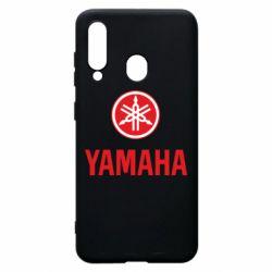 Чехол для Samsung A60 Yamaha Logo(R+W)