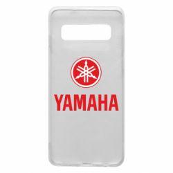 Чехол для Samsung S10 Yamaha Logo(R+W)
