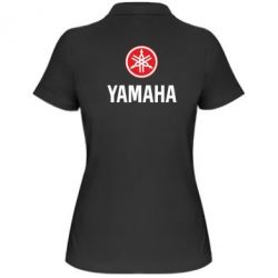 Женская футболка поло Yamaha Logo(R+W) - FatLine