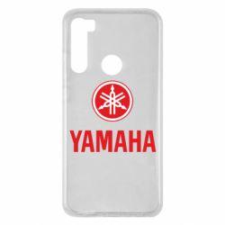 Чохол для Xiaomi Redmi Note 8 Yamaha Logo(R+W)