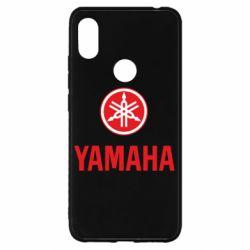 Чохол для Xiaomi Redmi S2 Yamaha Logo(R+W)