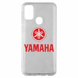 Чехол для Samsung M30s Yamaha Logo(R+W)