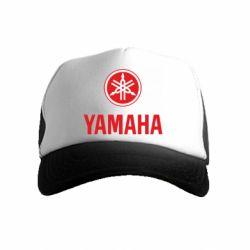 Детская кепка-тракер Yamaha Logo(R+W)