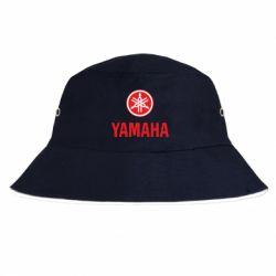 Панама Yamaha Logo(R+W)
