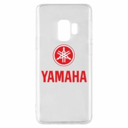 Чехол для Samsung S9 Yamaha Logo(R+W)