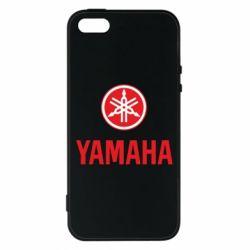 Чехол для iPhone5/5S/SE Yamaha Logo(R+W)