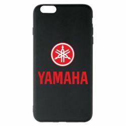 Чехол для iPhone 6 Plus/6S Plus Yamaha Logo(R+W)