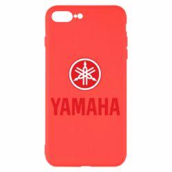 Чехол для iPhone 8 Plus Yamaha Logo(R+W)