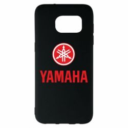 Чехол для Samsung S7 EDGE Yamaha Logo(R+W)