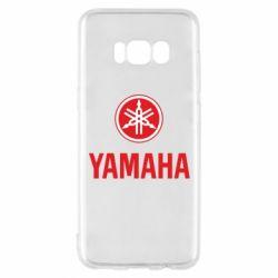 Чехол для Samsung S8 Yamaha Logo(R+W)