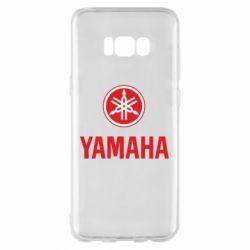 Чехол для Samsung S8+ Yamaha Logo(R+W)