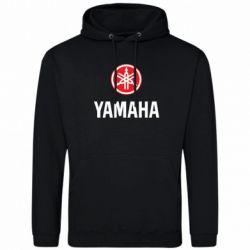 Мужская толстовка Yamaha Logo(R+W) - FatLine