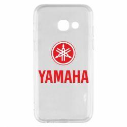Чехол для Samsung A3 2017 Yamaha Logo(R+W)