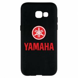Чехол для Samsung A5 2017 Yamaha Logo(R+W)