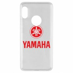 Чохол для Xiaomi Redmi Note 5 Yamaha Logo(R+W)