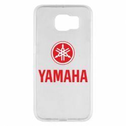 Чехол для Samsung S6 Yamaha Logo(R+W)