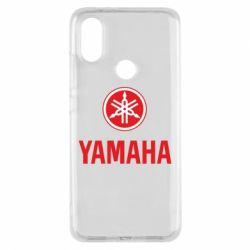 Чехол для Xiaomi Mi A2 Yamaha Logo(R+W)