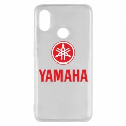 Чехол для Xiaomi Mi8 Yamaha Logo(R+W)
