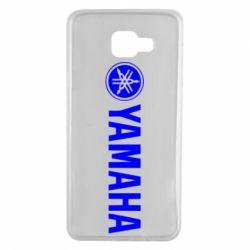 Чехол для Samsung A7 2016 Yamaha Logo
