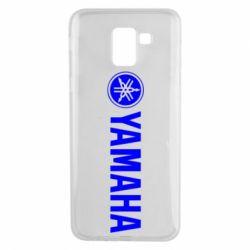 Чехол для Samsung J6 Yamaha Logo