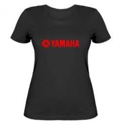 Женская футболка Yamaha Logo - FatLine
