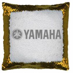Подушка-хамелеон Yamaha Logo