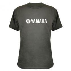 Камуфляжная футболка Yamaha Logo - FatLine