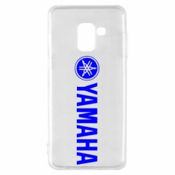 Чехол для Samsung A8 2018 Yamaha Logo