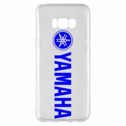 Чехол для Samsung S8+ Yamaha Logo
