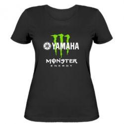 Женская футболка Yamaha Monster Energy - FatLine